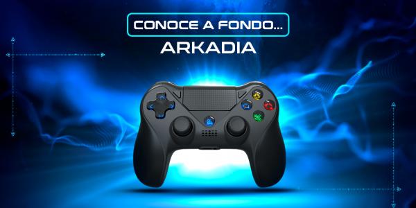 Arkadia a fondo: nuevo mando gaming inalámbrico compatible con PS4, Nintendo Switch y PC