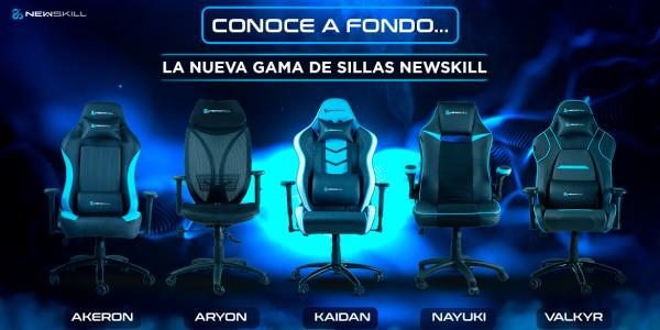 Conoce las nuevas sillas gaming Newskill
