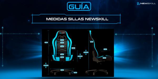 Guía de medidas de las sillas gaming Newskill