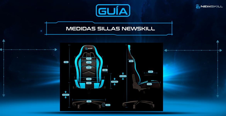 medidas silla gamer newskill