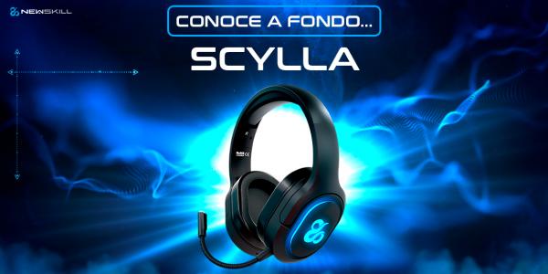 Lleva tus auriculares gaming inalámbricos Scylla a cualquier lugar