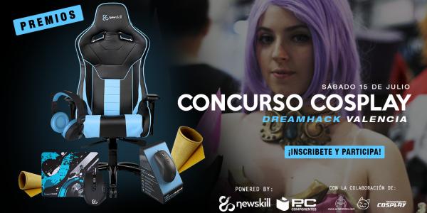 Atención cosplayers: Newskill presenta su doble concurso de cosplay
