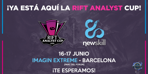 Newskill formará parte de la final de la Rift Analyst Cup