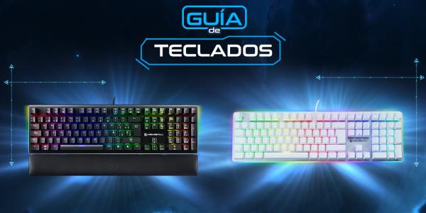 Guía de teclados gaming: ¿cuál es el tuyo?