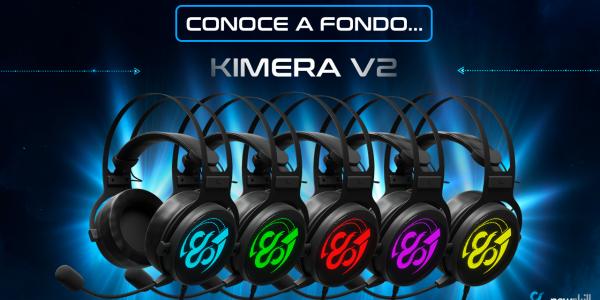 Kimera V2 en profundidad: modos de colores de nuestros auriculares gaming