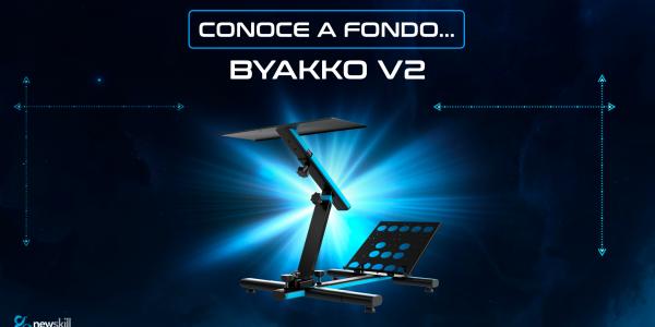 Byakko V2 en profundidad: descubre nuestro soporte para volantes