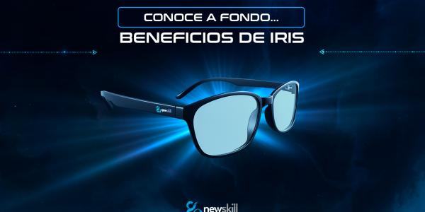 Gafas Gaming Iris: beneficios frente a la luz azul