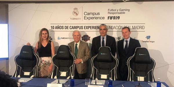 Newskill formará parte de Campus Experience: fútbol y gaming responsable se dan la mano