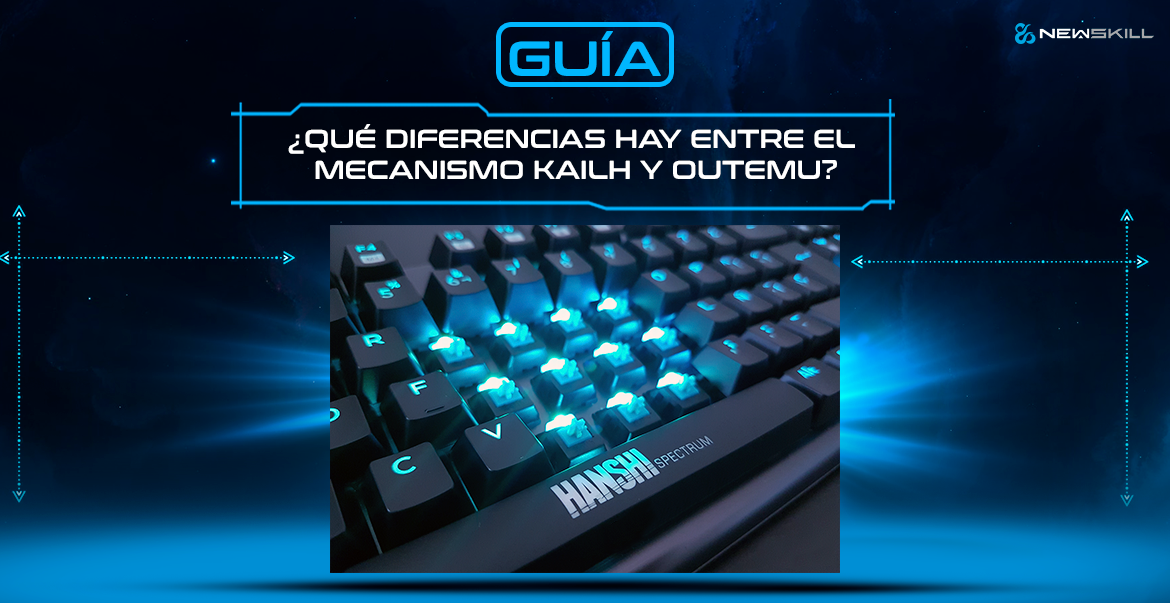Tipos de switch teclado: diferencias entre switch Kaihl y Outemu